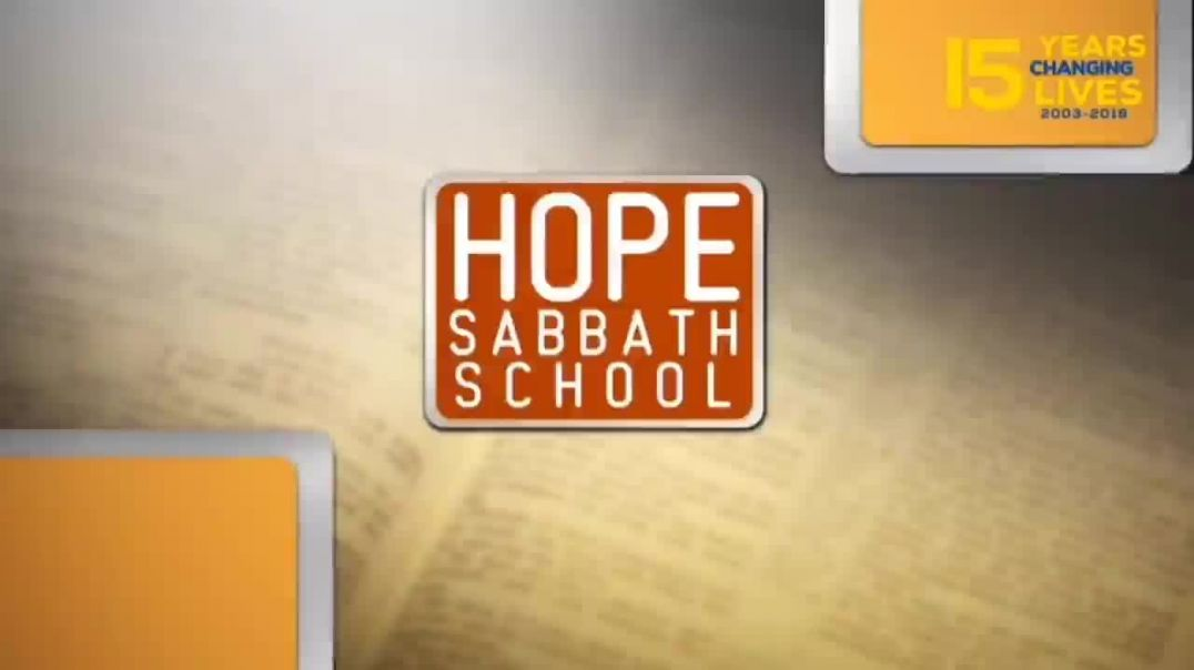 Hope Sabbath School Lesson 1 The Gospel from Patmos