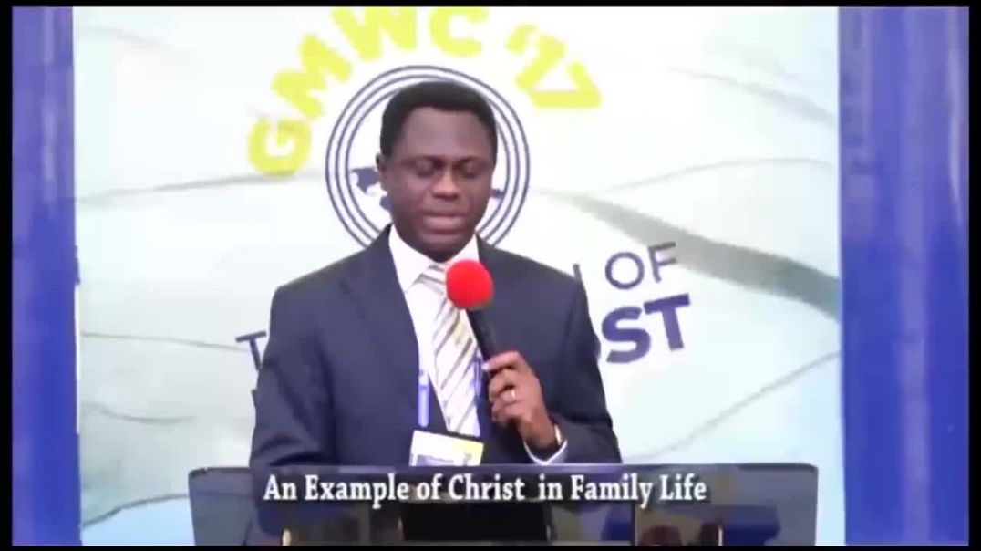 Apostle Eric Nyamekye - An Example Of Christ In Family Life