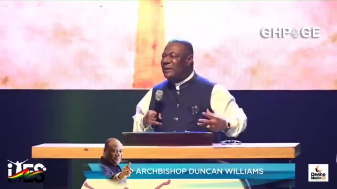 Archbishop Duncan Williams -  Perfect Message Every Youth Must Listen To  Tyes (2019)